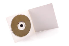 CD cardboard case Royalty Free Stock Photo