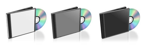 CD and Case Stock Images