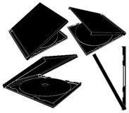 CD Case Vector 01 Stock Photos