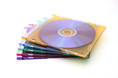 Cd cases Stock Image