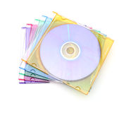 Cd cases stock photos