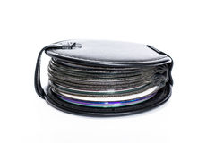 CD Cases. On white background stock images