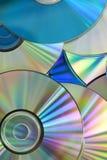 CD cd-skivor Arkivfoto