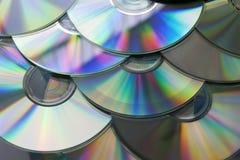 CD cd-skivor Royaltyfri Bild