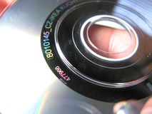 Cd Close Up Royalty Free Stock Images