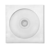 CD con el caso de papel imagenes de archivo