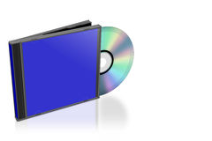 CD and cover Royalty Free Stock Images