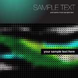 CD cover background. Of spots and blurred colors Stock Photo