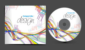 Cd cover design Stock Images
