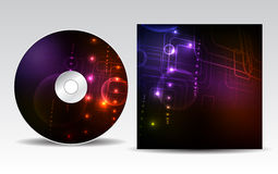 CD cover design Stock Photos