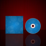 Cd cover design template. Stock Photography