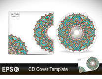CD cover design template Stock Photo