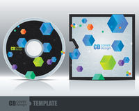 CD Cover Design Template Set 3 Royalty Free Stock Photos