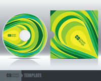 CD Cover Design Template Set 4 Stock Photo