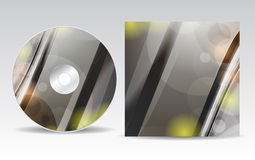 CD cover design Royalty Free Stock Photo