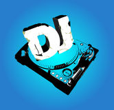 Cd cover  for Dj. Creative Cd cover  for Dj Royalty Free Stock Photography