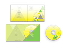 CD cover and envelope design Royalty Free Stock Photography