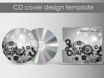 Cd cover presentation design template Stock Images