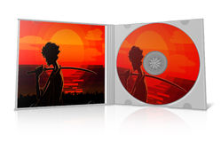 Cd cover victor design Stock Images