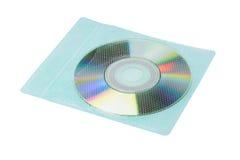 CD dans l'enveloppe en plastique Photographie stock