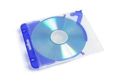 CD dans le boîtier en plastique Photo stock