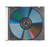CD dans le boîtier en plastique Image stock