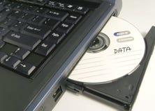 cd data royaltyfri bild