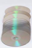CD data recording Stock Image