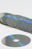 CD data recording Royalty Free Stock Images
