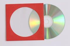 CD-Datenaufzeichnung Lizenzfreies Stockfoto