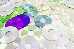 dvd technologies background Stock Images