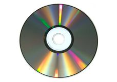 CD de couleur Photographie stock
