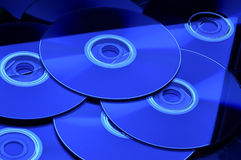 CD DE DVD Images stock