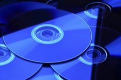 CD DE DVD Imagen de archivo