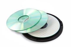 CD de embalagem Imagem de Stock Royalty Free