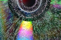 CD de la burbuja Imagen de archivo