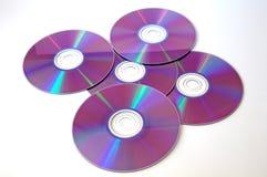 CD de la música Imágenes de archivo libres de regalías