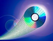 CD de los datos Fotografía de archivo