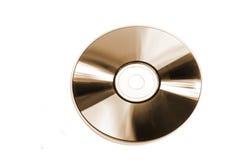 CD de platine Photographie stock libre de droits