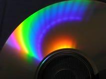 Cd del espectro Fotografía de archivo
