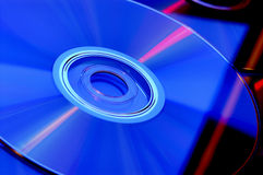 CD DI DVD Fotografia Stock Libera da Diritti