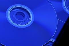CD DI DVD Fotografie Stock Libere da Diritti