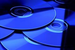 CD DI DVD Immagini Stock