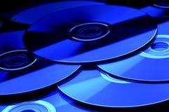 CD DI DVD Immagine Stock Libera da Diritti