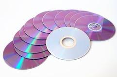 CD di musica Fotografie Stock Libere da Diritti