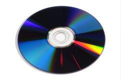 CD die over wit wordt geïsoleerdr Royalty-vrije Stock Foto's