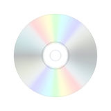 CD digital compact disc. Royalty Free Stock Photo