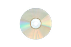 CD-disc. CD disc close up, isolated stock image