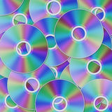 Cd disc background Royalty Free Stock Photo