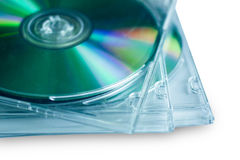 Cd disc for data storage Royalty Free Stock Photo
